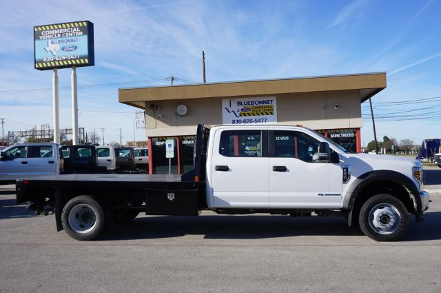 2019 Ford F-550 Crew Cab DRW 4x4, CM Truck Beds RD Model Flatbed #TEG80109 - photo 4