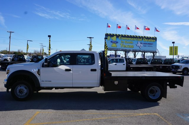 2019 Ford F-550 Crew Cab DRW 4x4, CM Truck Beds RD Model Flatbed #TEG80109 - photo 7