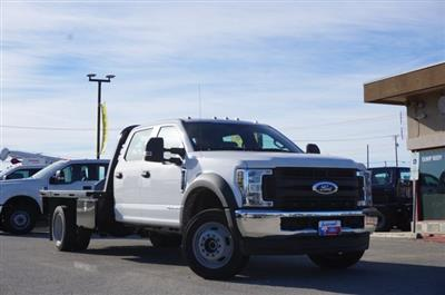 2019 Ford F-550 Crew Cab DRW 4x4, CM Truck Beds RD Model Flatbed #TEG80109 - photo 3