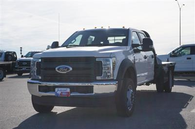 2019 Ford F-550 Crew Cab DRW 4x4, CM Truck Beds RD Model Flatbed #TEG80109 - photo 8