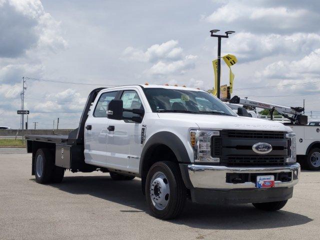 2019 Ford F-450 Crew Cab DRW 4x4, CM Truck Beds Platform Body #TEG80238 - photo 1