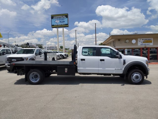 2019 Ford F-450 Crew Cab DRW 4x4, CM Truck Beds RD Model Flatbed #TEG80238 - photo 4
