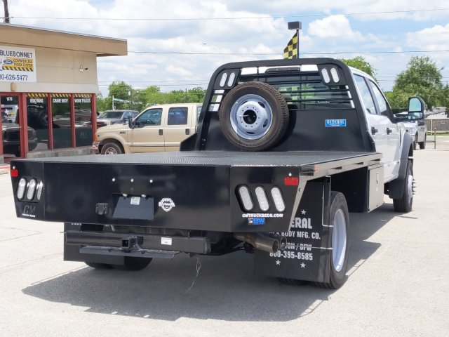2019 Ford F-450 Crew Cab DRW 4x4, CM Truck Beds RD Model Flatbed #TEG80238 - photo 2