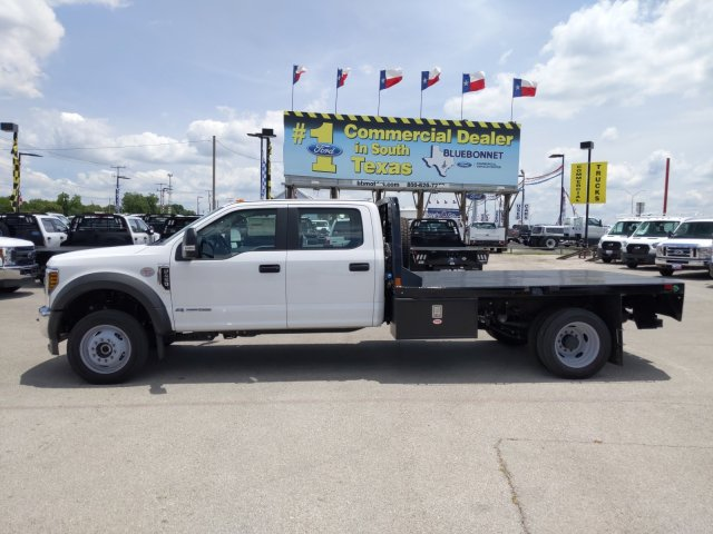 2019 Ford F-450 Crew Cab DRW 4x4, CM Truck Beds RD Model Flatbed #TEG80238 - photo 8
