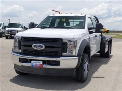 2019 Ford F-450 Crew Cab DRW 4x4, CM Truck Beds RD Model Flatbed #TEG80238 - photo 9