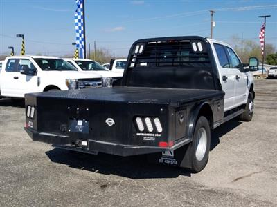 2019 Ford F-350 Crew Cab DRW 4x4, CM Truck Beds SK Model Flatbed #TEG80920 - photo 2