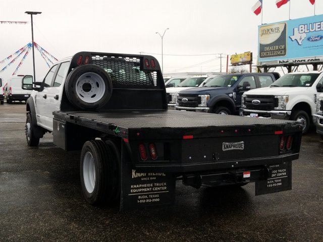 2019 Ford F-550 Crew Cab DRW 4x4, Flatbed #TEG88303 - photo 16