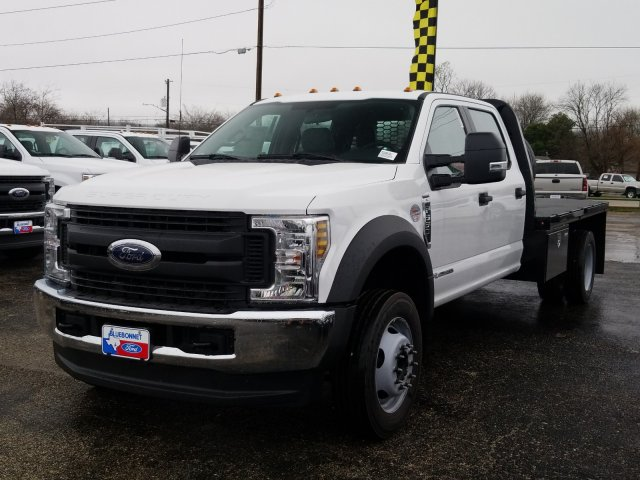 2019 Ford F-550 Crew Cab DRW 4x4, Flatbed #TEG88303 - photo 17