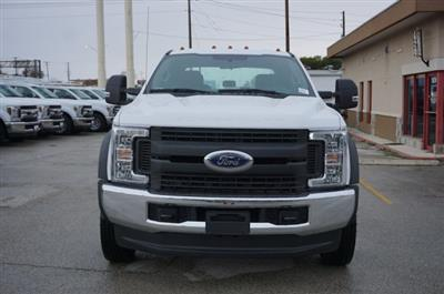 2019 Ford F-550 Crew Cab DRW 4x4, Flatbed #TEG88303 - photo 3