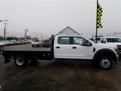 2019 Ford F-550 Crew Cab DRW 4x4, Flatbed #TEG88303 - photo 13