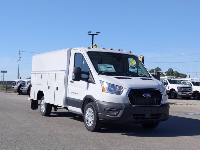 2020 Ford Transit 350 RWD, Reading Aluminum CSV Service Utility Van #VKA02622 - photo 1
