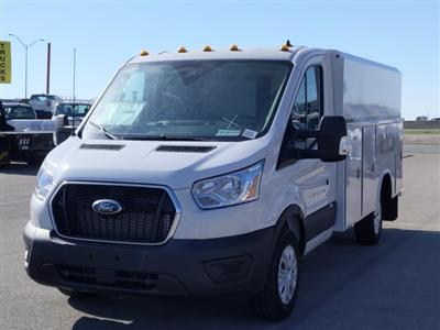 2020 Ford Transit 350 RWD, Reading Aluminum CSV Service Utility Van #VKA02622 - photo 11
