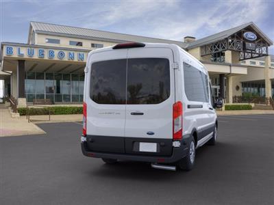 2020 Ford Transit 350 Med Roof RWD, Passenger Wagon #VKA46244 - photo 2
