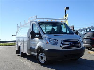 2018 Transit 350 HD DRW 4x2,  Royal TR 125 Transit Service Body #VKB31760 - photo 3