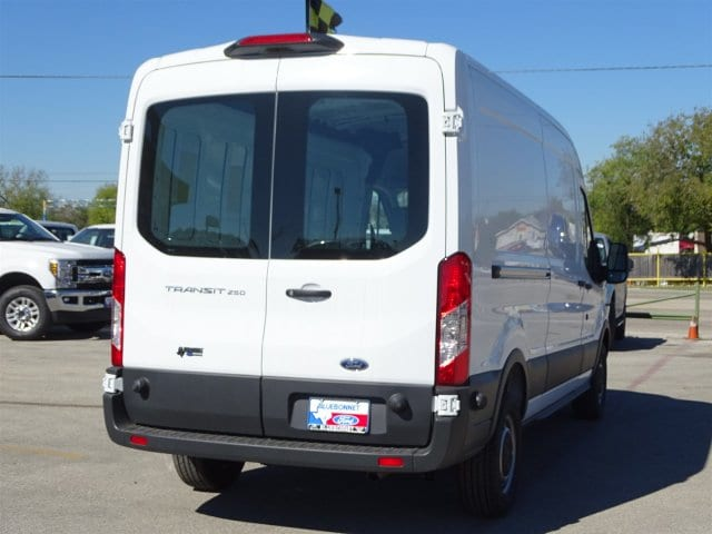 2018 Transit 250 Med Roof 4x2,  Empty Cargo Van #VKB40780 - photo 4