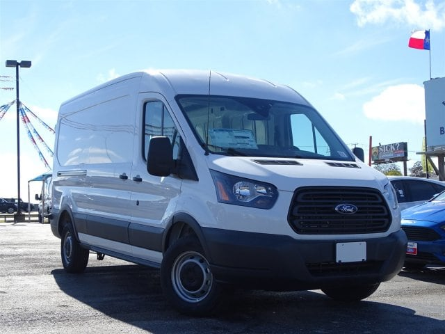 2018 Transit 250 Med Roof 4x2,  Empty Cargo Van #VKB46130 - photo 3