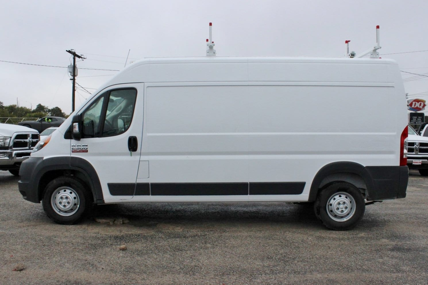 2018 ProMaster 2500 High Roof,  Weather Guard Upfitted Cargo Van #SE106095 - photo 4