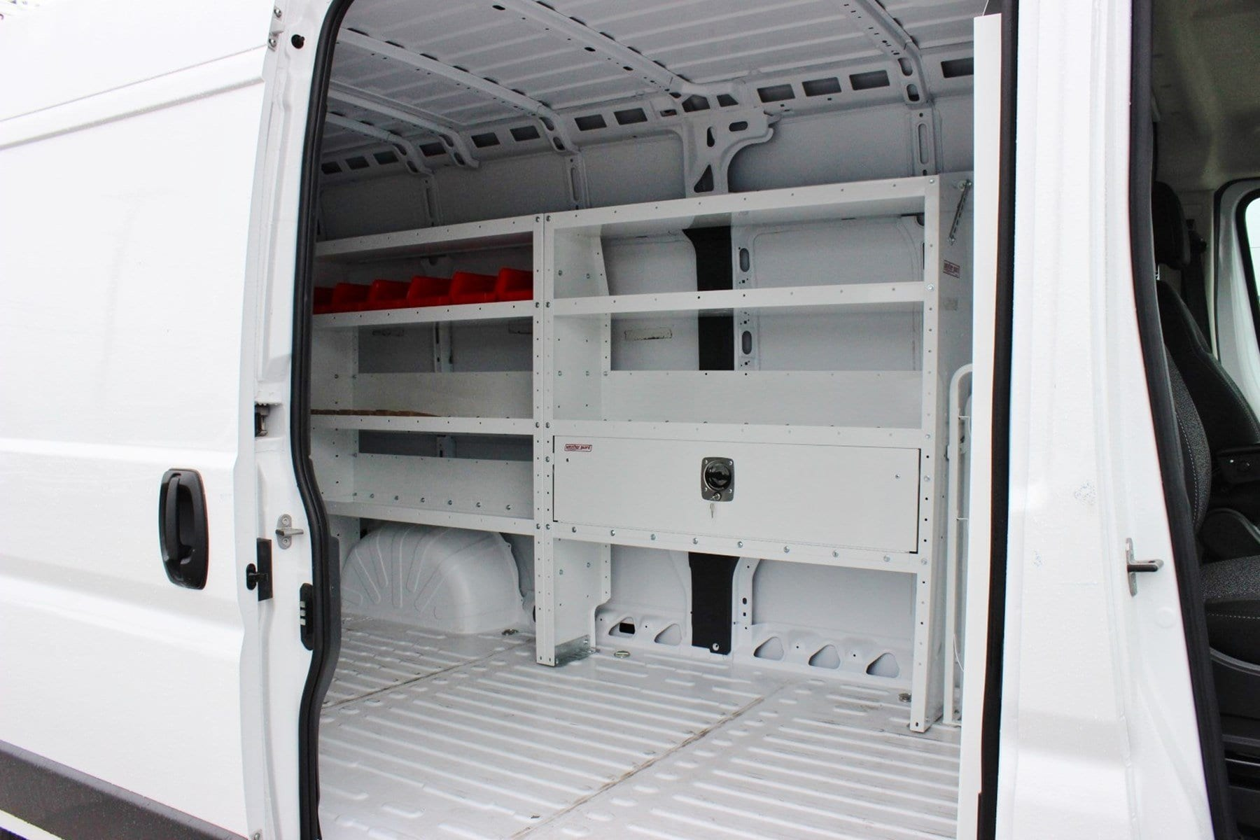 2018 ProMaster 2500 High Roof,  Weather Guard Upfitted Cargo Van #SE106095 - photo 11