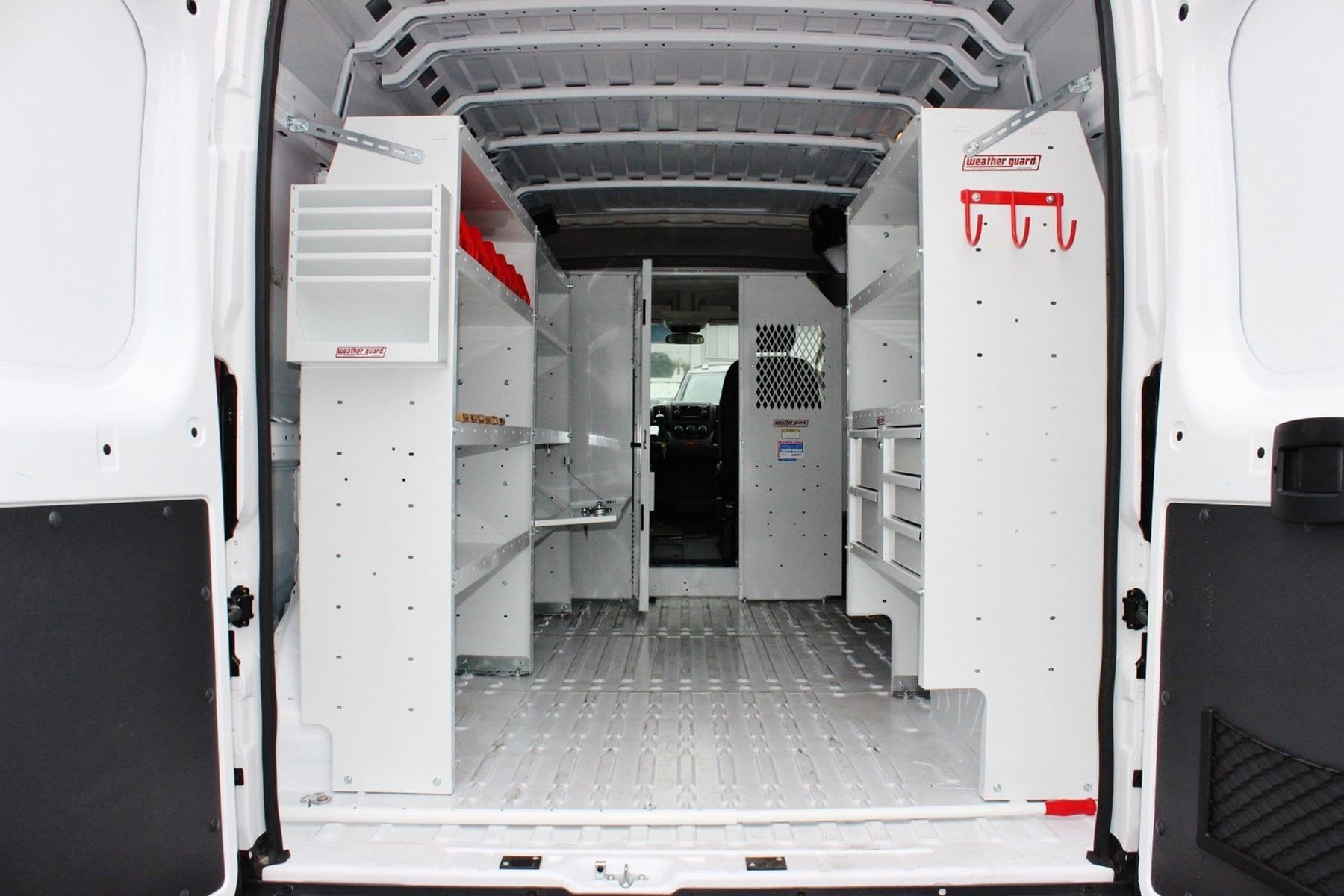 2018 ProMaster 2500 High Roof,  Weather Guard Upfitted Cargo Van #SE106095 - photo 2