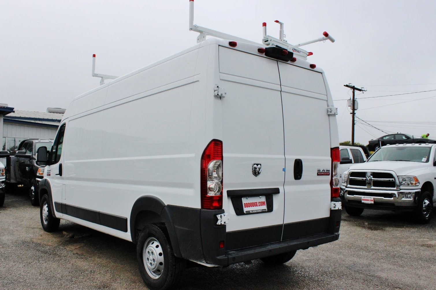 2018 ProMaster 2500 High Roof,  Weather Guard Upfitted Cargo Van #SE106095 - photo 16
