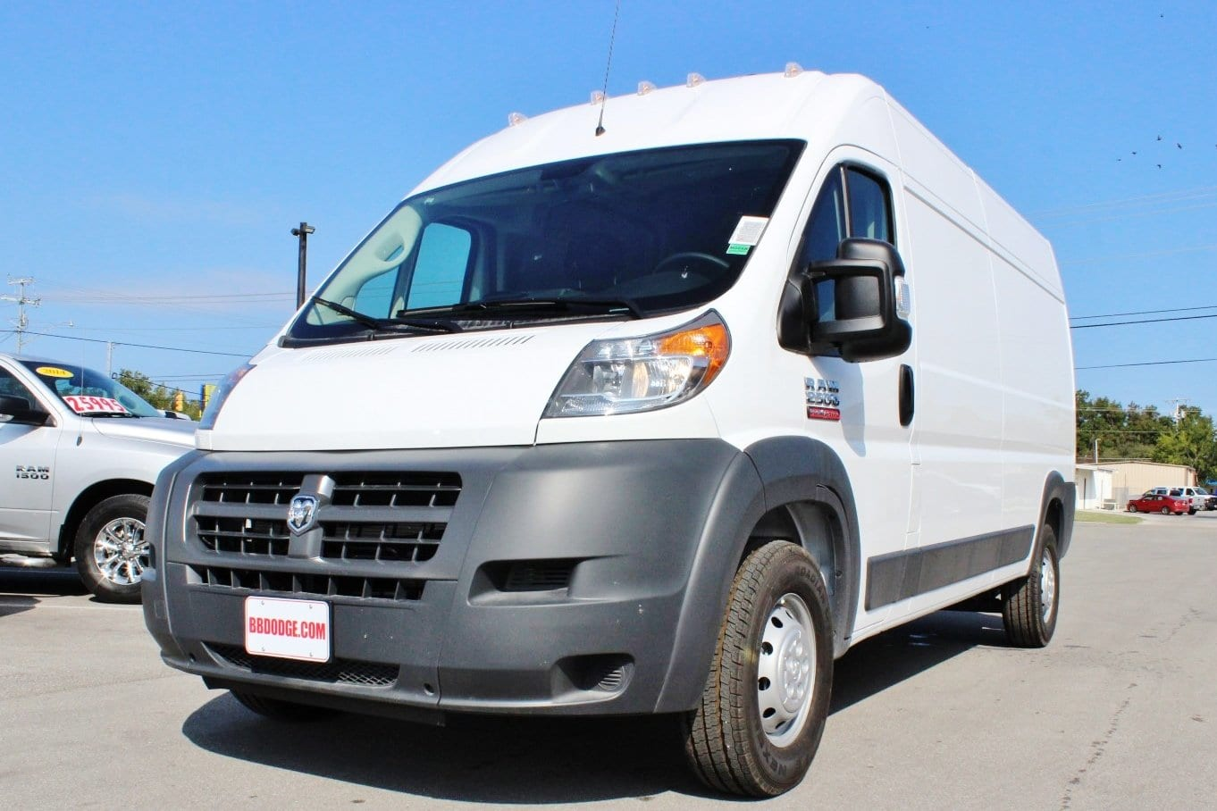 2018 ProMaster 2500 High Roof,  Empty Cargo Van #SE106098 - photo 3