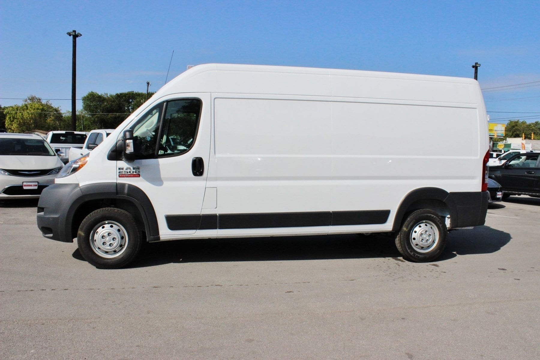 2018 ProMaster 2500 High Roof,  Empty Cargo Van #SE106098 - photo 4