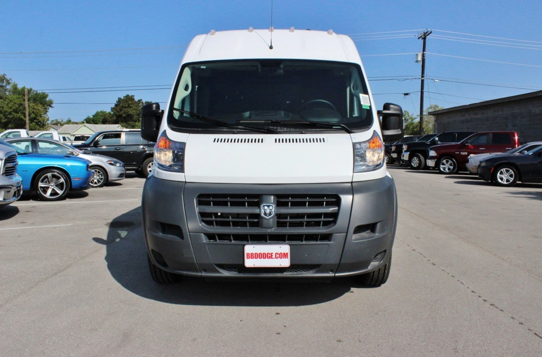 2018 ProMaster 2500 High Roof, Cargo Van #SE106098 - photo 5