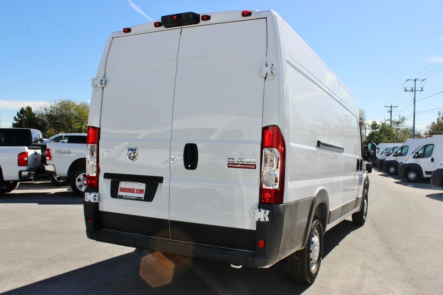 2018 ProMaster 3500 High Roof,  Upfitted Cargo Van #SE112328 - photo 3