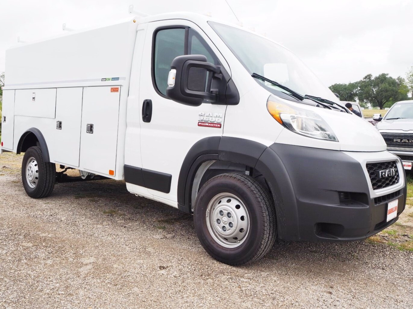 2020 Ram ProMaster 3500 FWD, Service Utility Van #SE119334 - photo 1