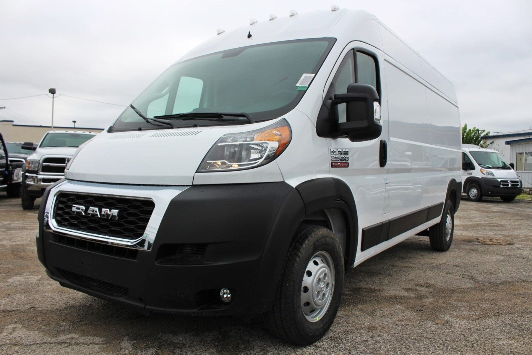 2019 ProMaster 2500 High Roof FWD,  Empty Cargo Van #SE503331 - photo 3