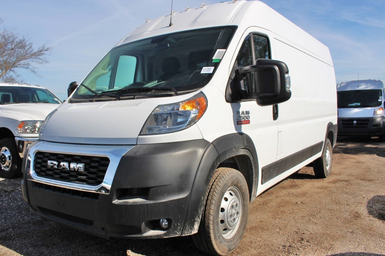 2019 ProMaster 2500 High Roof FWD,  Empty Cargo Van #SE503558 - photo 3