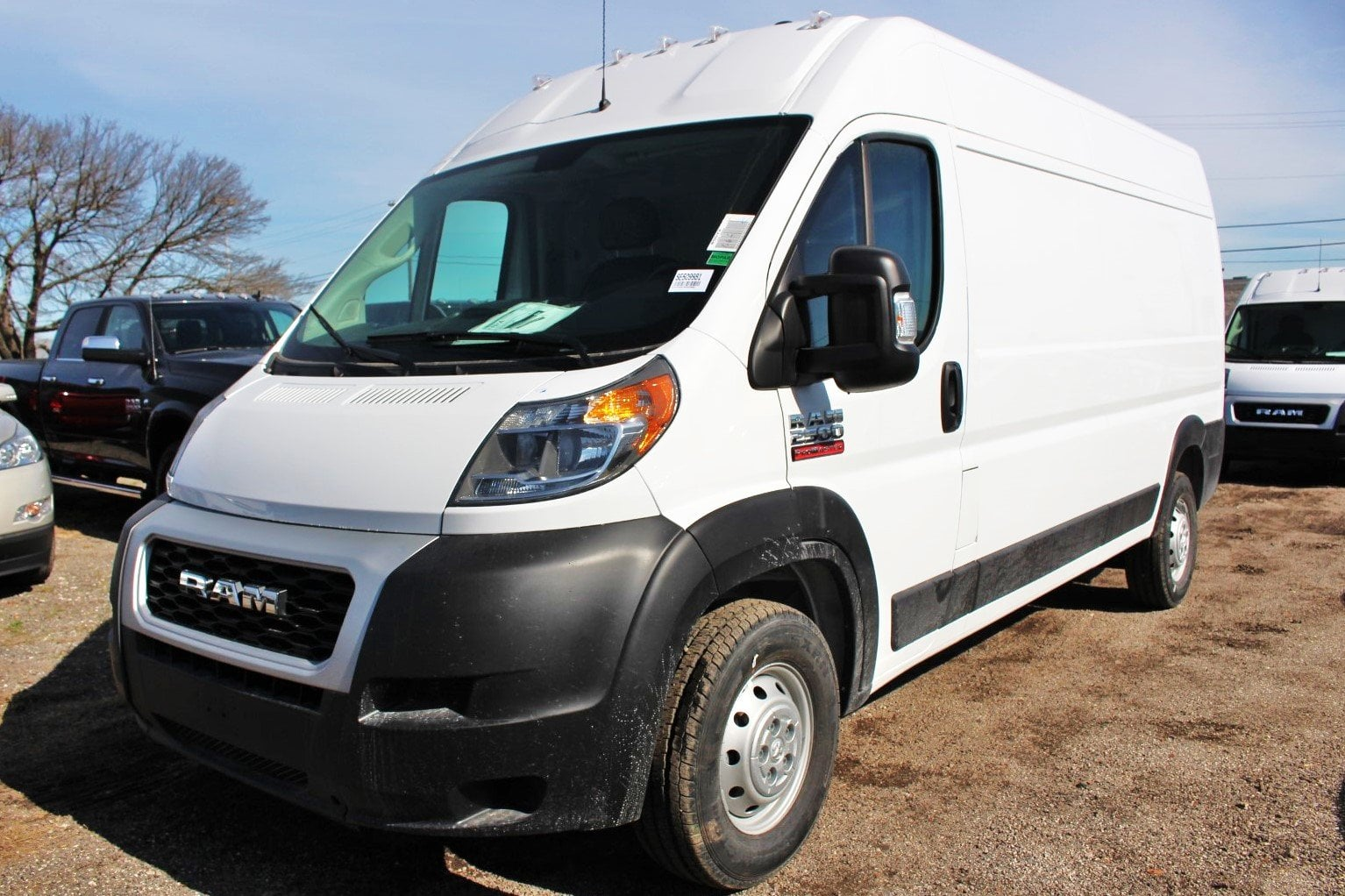 2019 ProMaster 2500 High Roof FWD,  Empty Cargo Van #SE509981 - photo 3