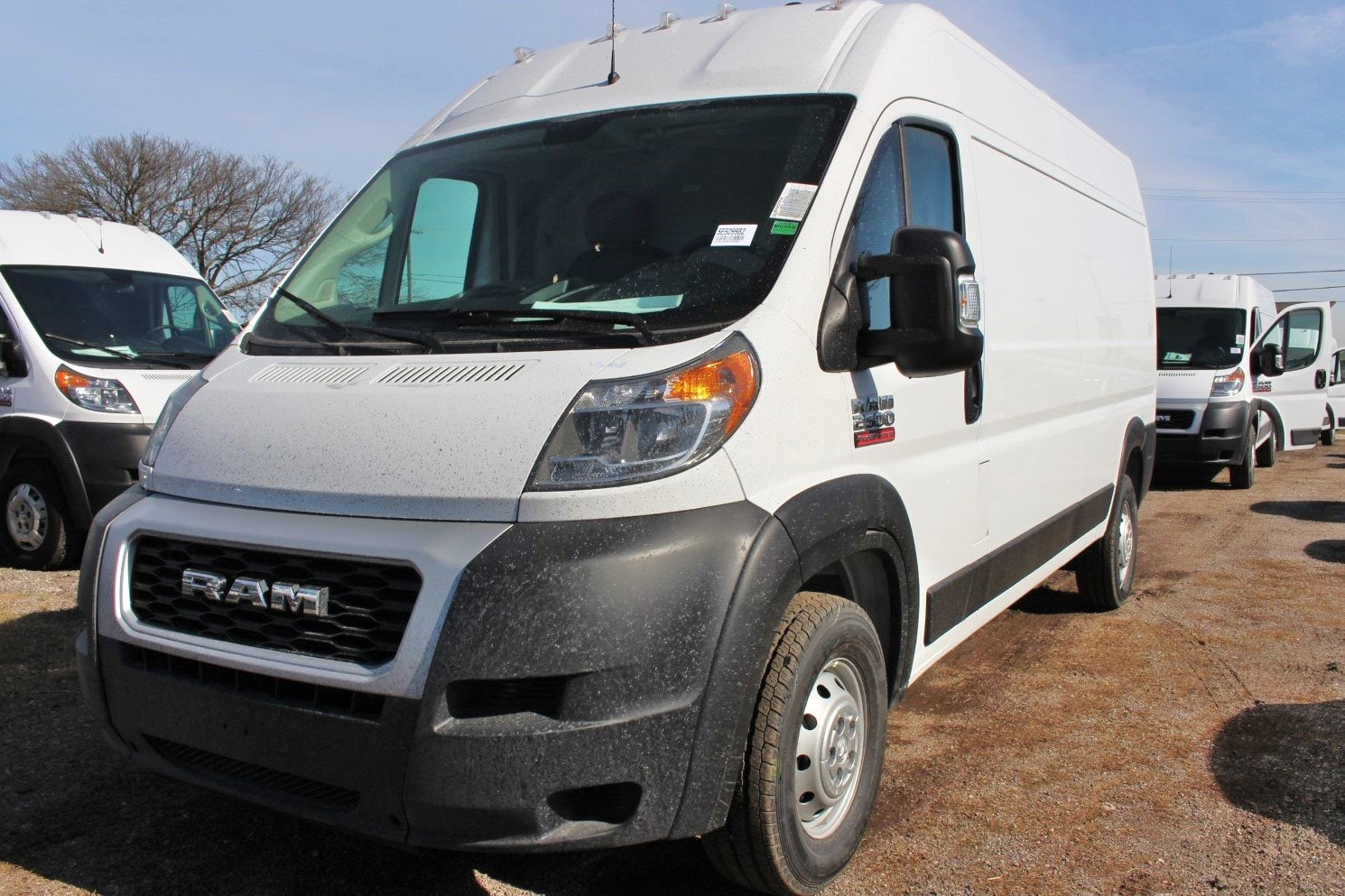 2019 ProMaster 2500 High Roof FWD,  Empty Cargo Van #SE509982 - photo 4