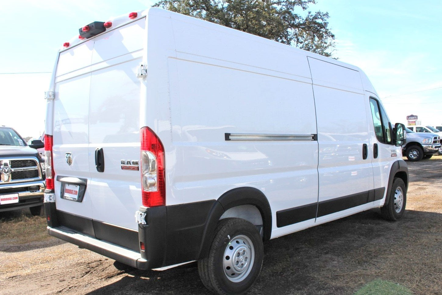 2019 ProMaster 2500 High Roof FWD,  Empty Cargo Van #SE509982 - photo 3