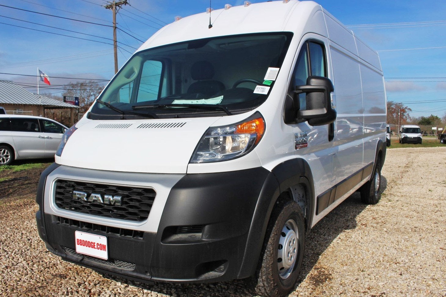 2019 ProMaster 2500 High Roof FWD,  Empty Cargo Van #SE509983 - photo 3