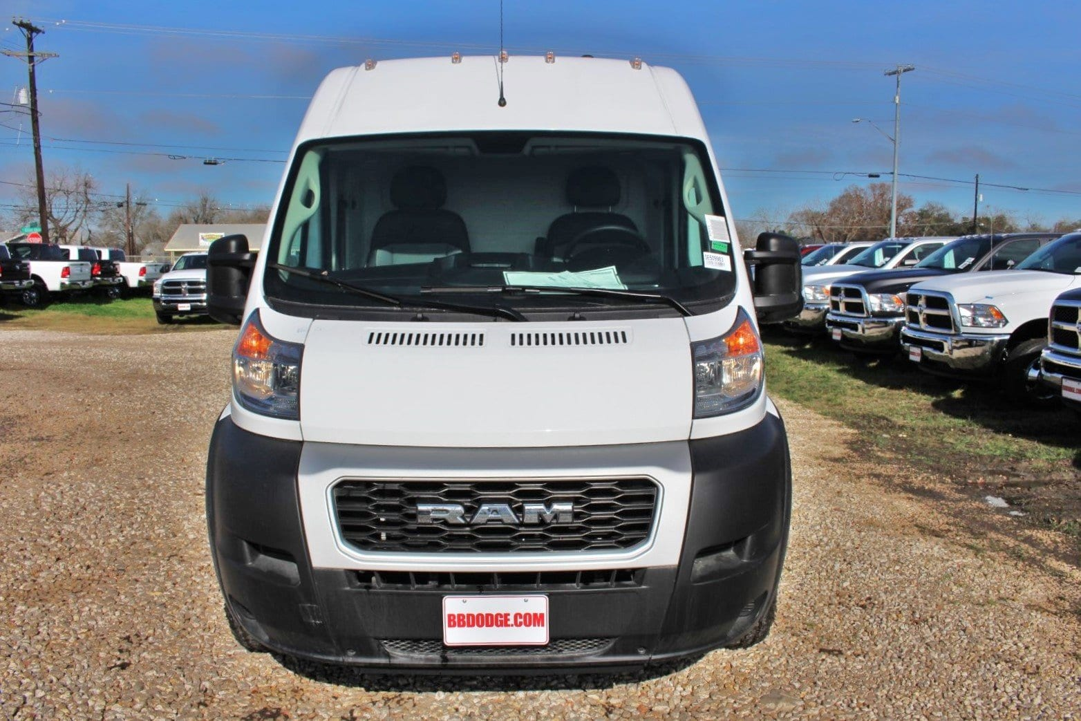 2019 ProMaster 2500 High Roof FWD,  Empty Cargo Van #SE509983 - photo 5