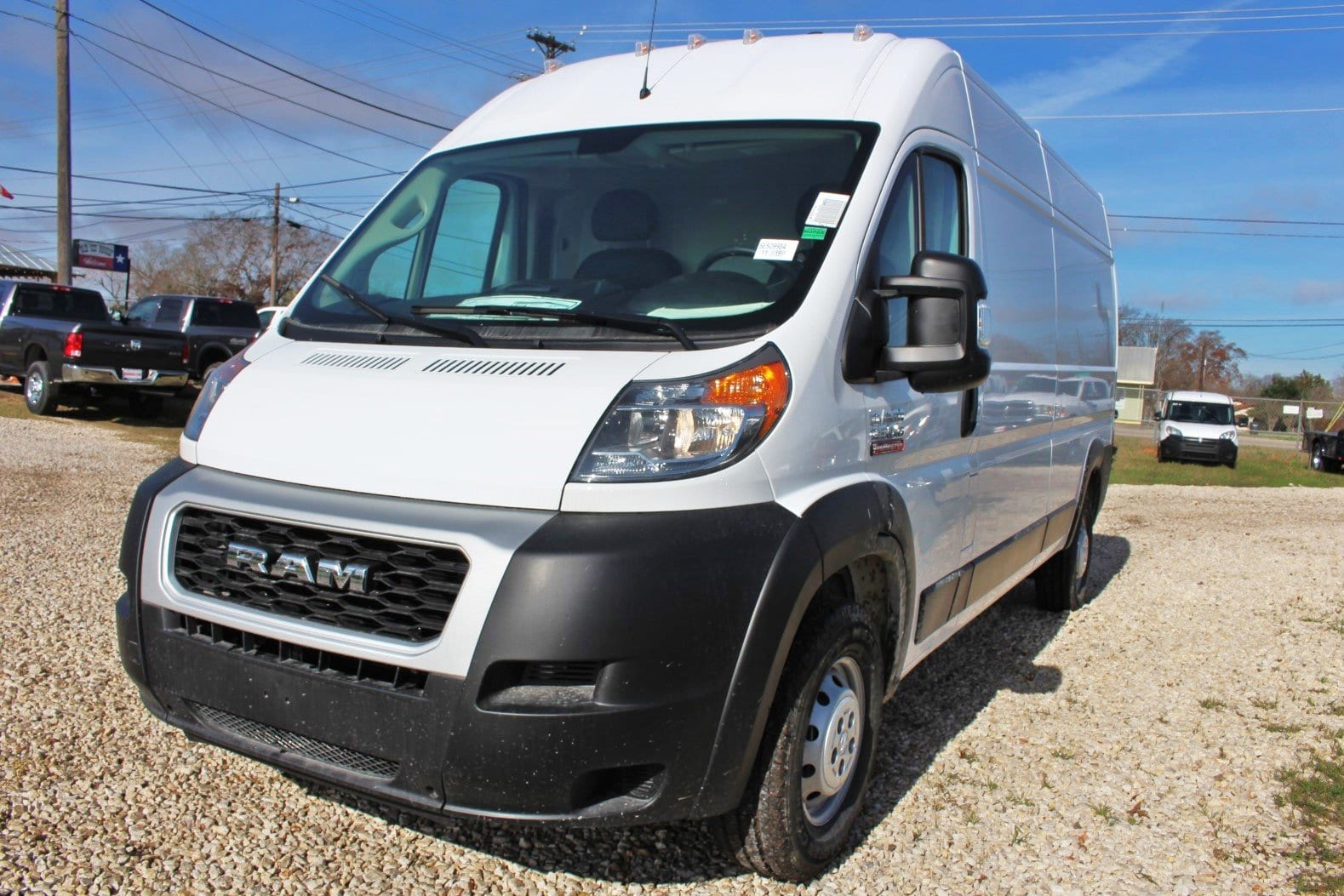 2019 ProMaster 2500 High Roof FWD,  Empty Cargo Van #SE509984 - photo 3