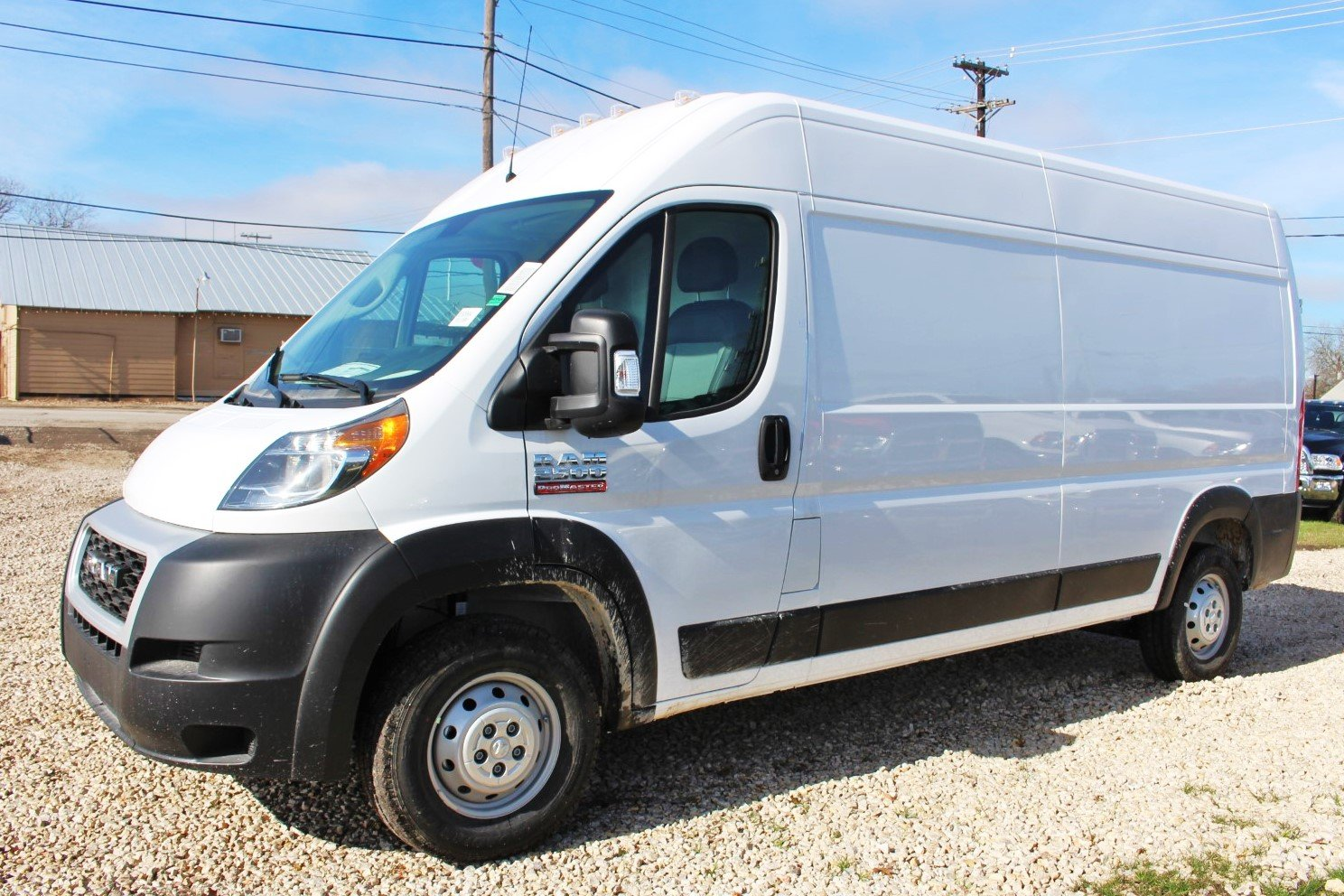 2019 ProMaster 2500 High Roof FWD,  Empty Cargo Van #SE509984 - photo 4
