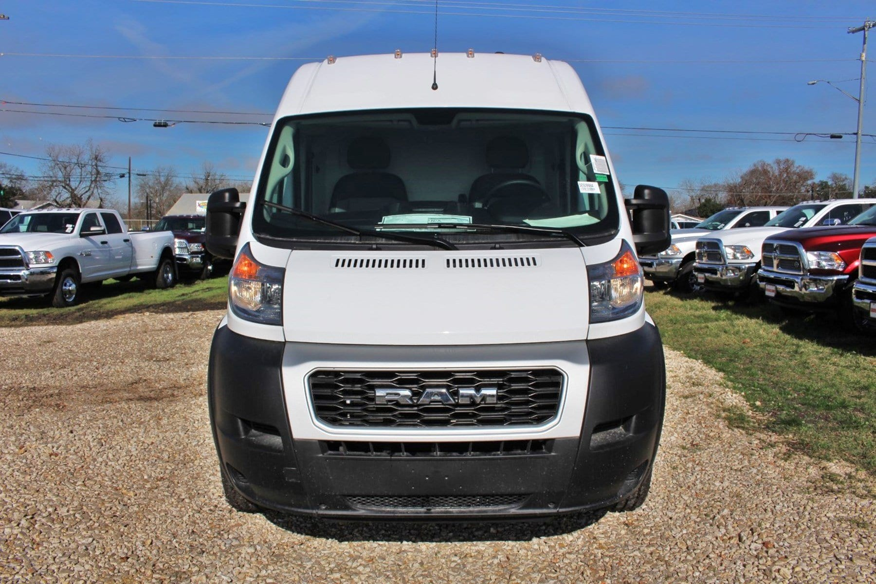2019 ProMaster 2500 High Roof FWD,  Empty Cargo Van #SE509984 - photo 5