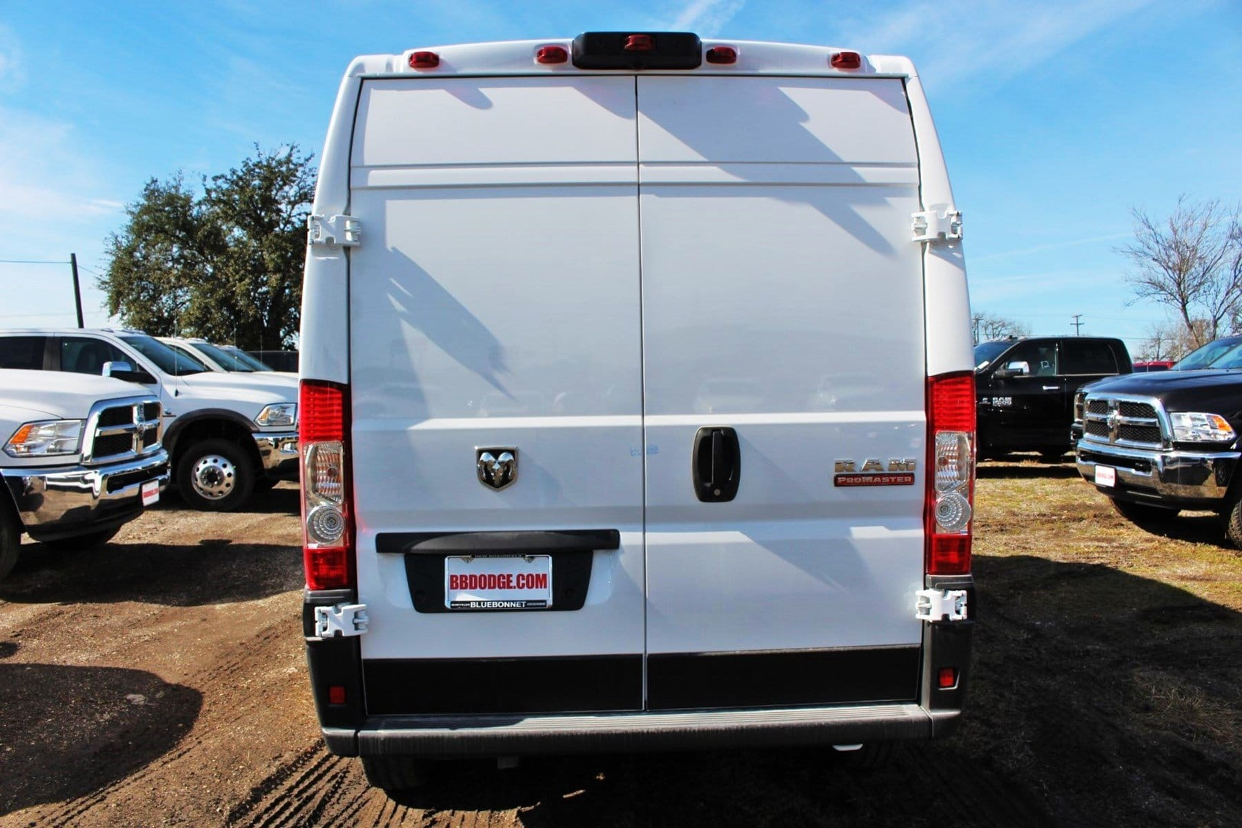2019 ProMaster 2500 High Roof FWD,  Empty Cargo Van #SE509985 - photo 8