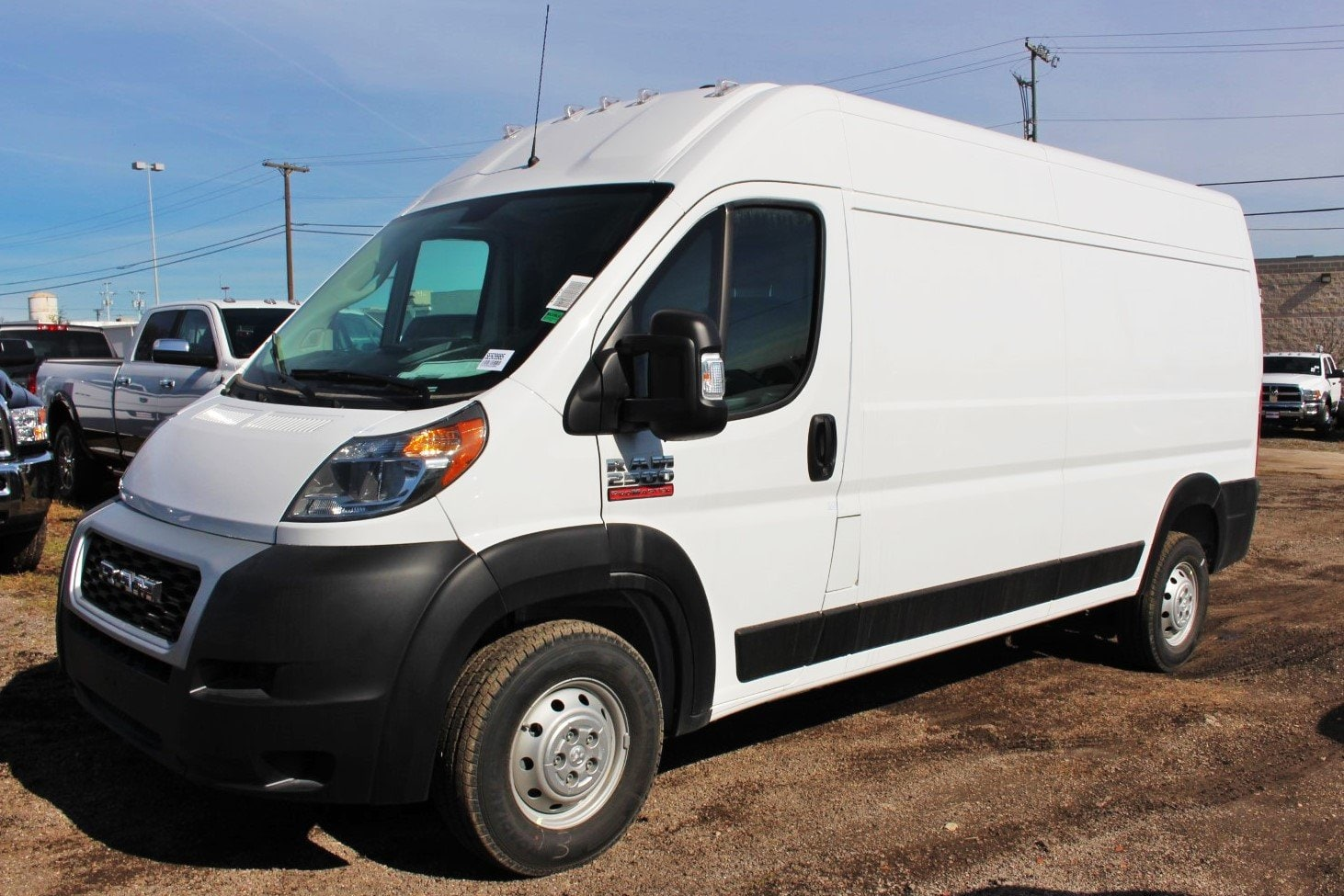 2019 ProMaster 2500 High Roof FWD,  Empty Cargo Van #SE509985 - photo 3