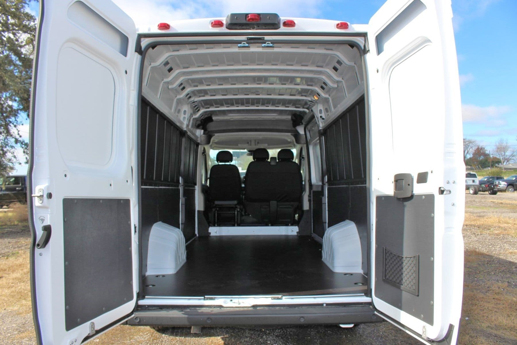 2019 ProMaster 3500 High Roof FWD,  Empty Cargo Van #SE510274 - photo 2