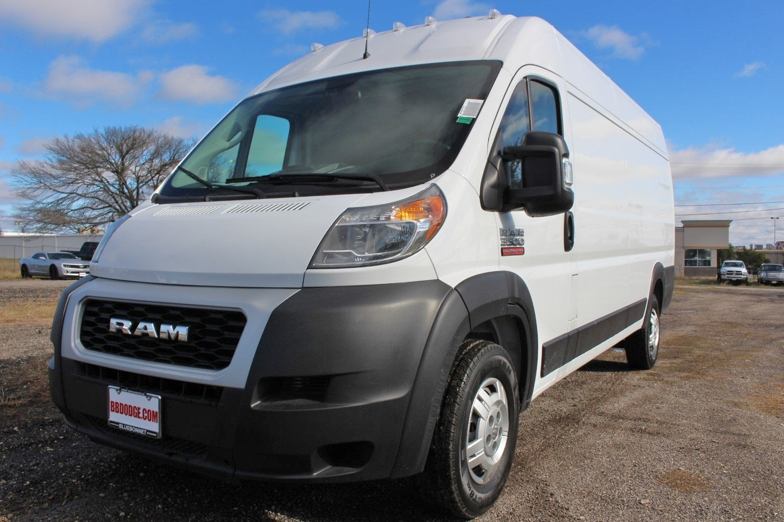 2019 ProMaster 3500 High Roof FWD,  Empty Cargo Van #SE510274 - photo 4
