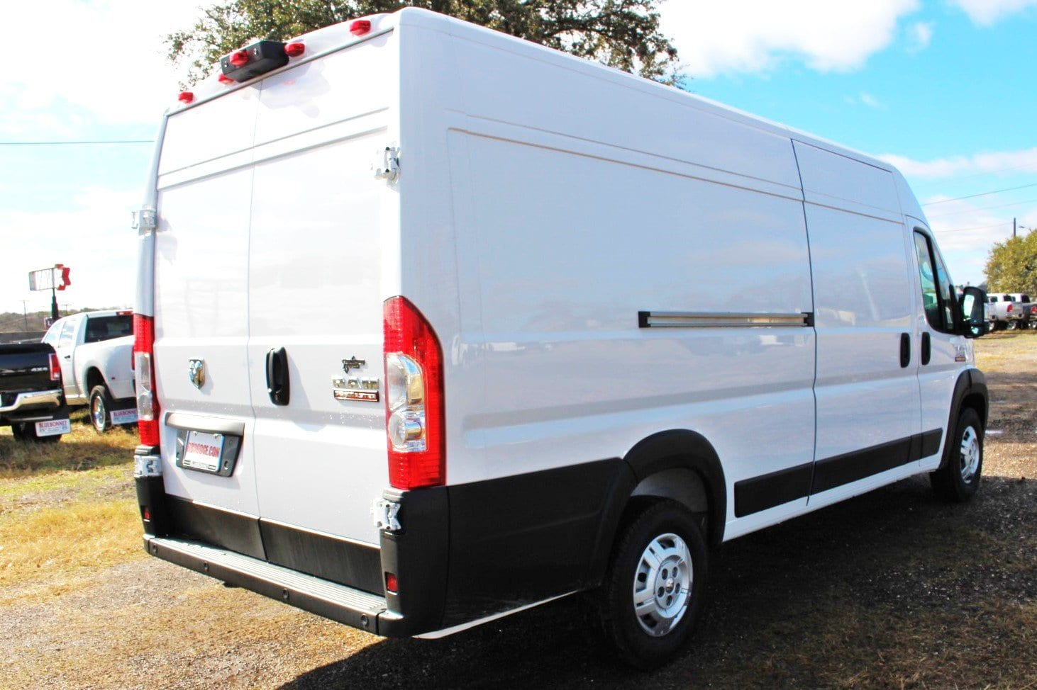 2019 ProMaster 3500 High Roof FWD,  Empty Cargo Van #SE510274 - photo 3