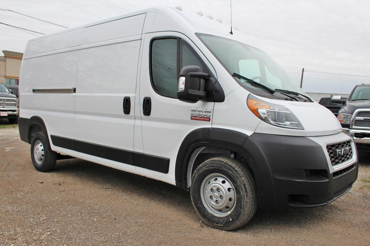 Cargo Van For Sale >> 2019 Promaster 2500 High Roof Fwd Empty Cargo Van Stock Se523345