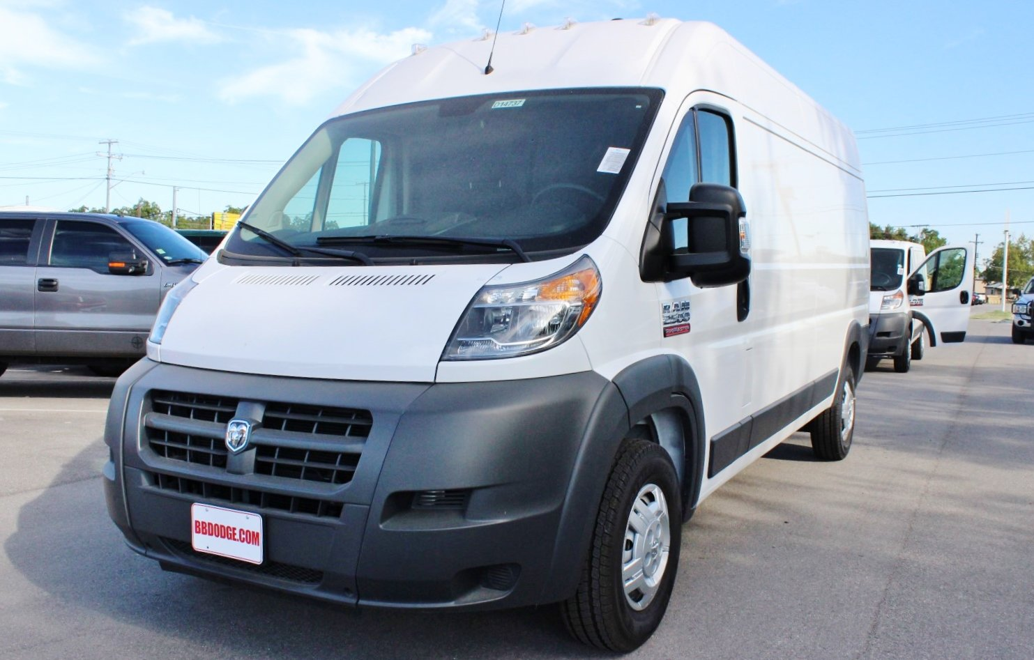 2017 ProMaster 1500 Low Roof, Cargo Van #SE551684 - photo 3