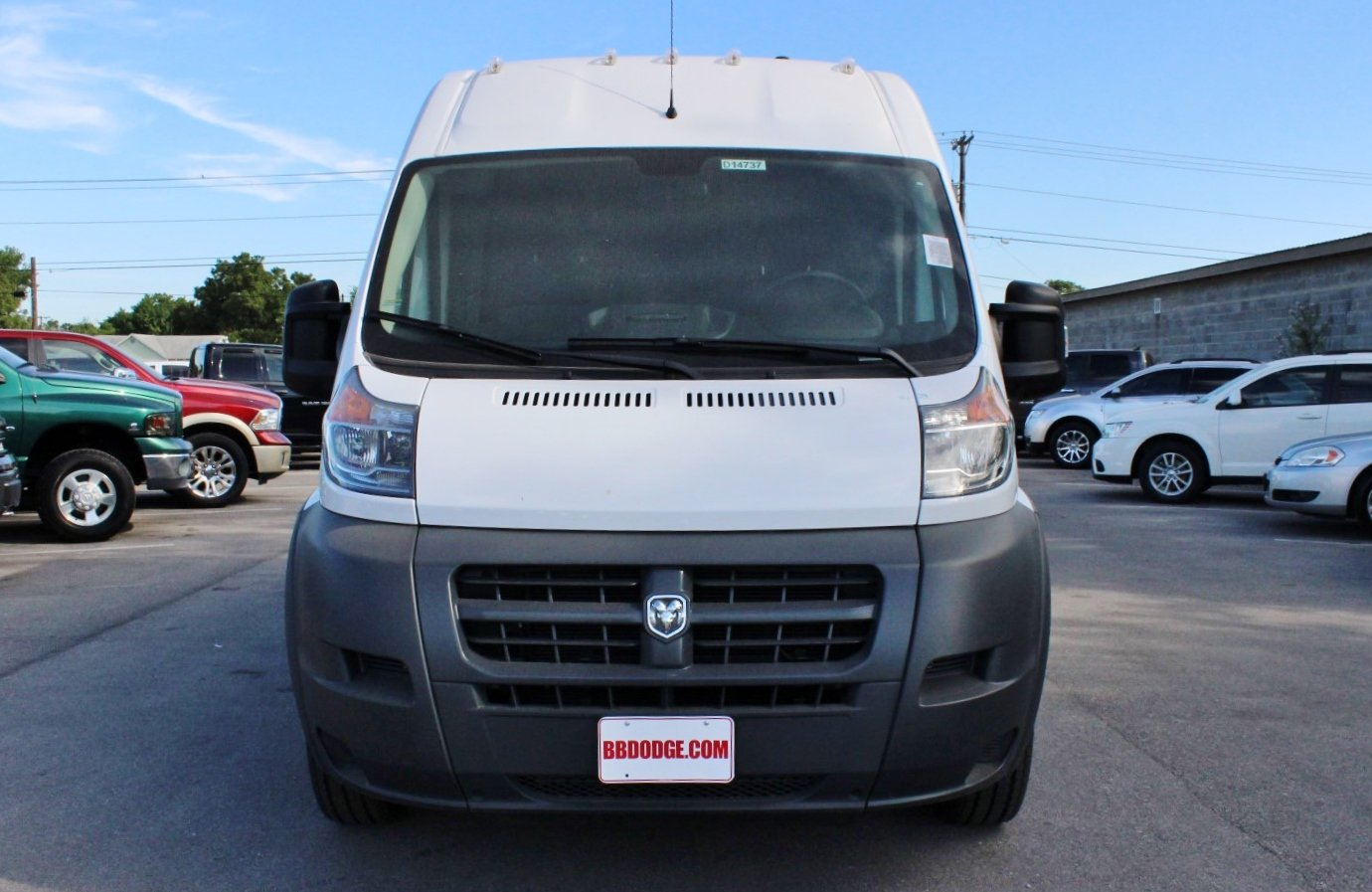 2017 ProMaster 1500 Low Roof, Cargo Van #SE551684 - photo 5