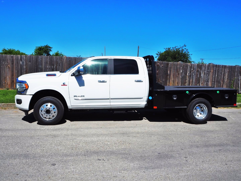 2020 Ram 3500 Crew Cab DRW 4x4, CM Truck Beds SK Model Flatbed #TG110405 - photo 4