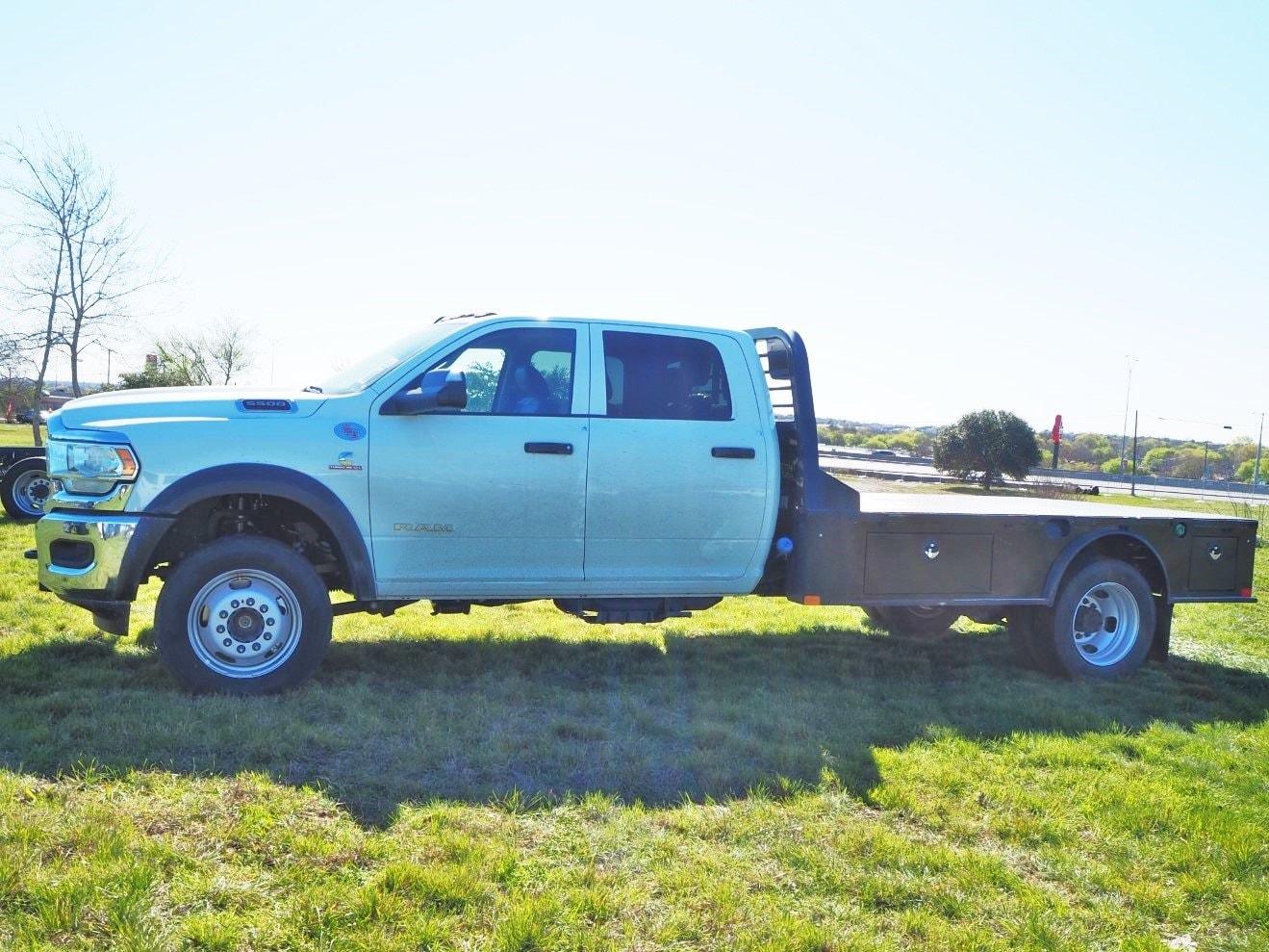 2020 Ram 5500 Crew Cab DRW 4x4, CM Truck Beds SK Model Flatbed #TG119712 - photo 11