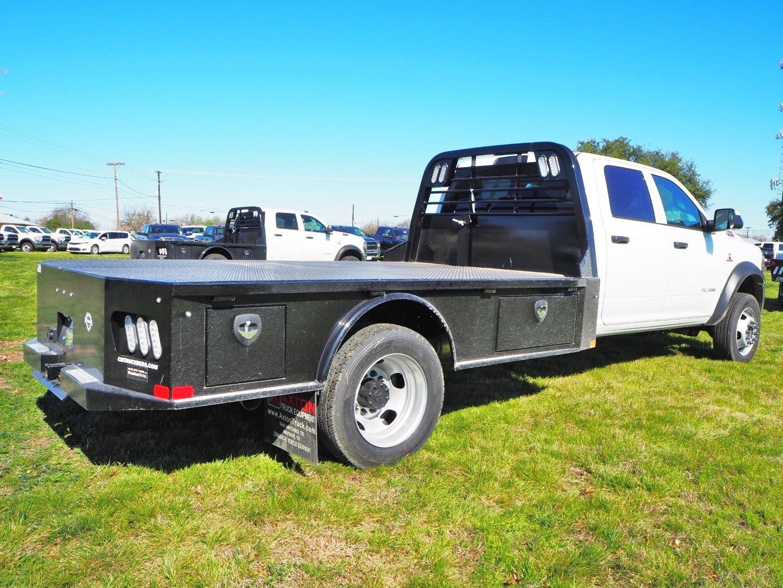 2020 Ram 5500 Crew Cab DRW 4x4, CM Truck Beds SK Model Flatbed #TG119712 - photo 5